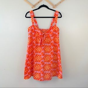 3/30$ Lilka Pinwheel Chemise Anthropologie Dress